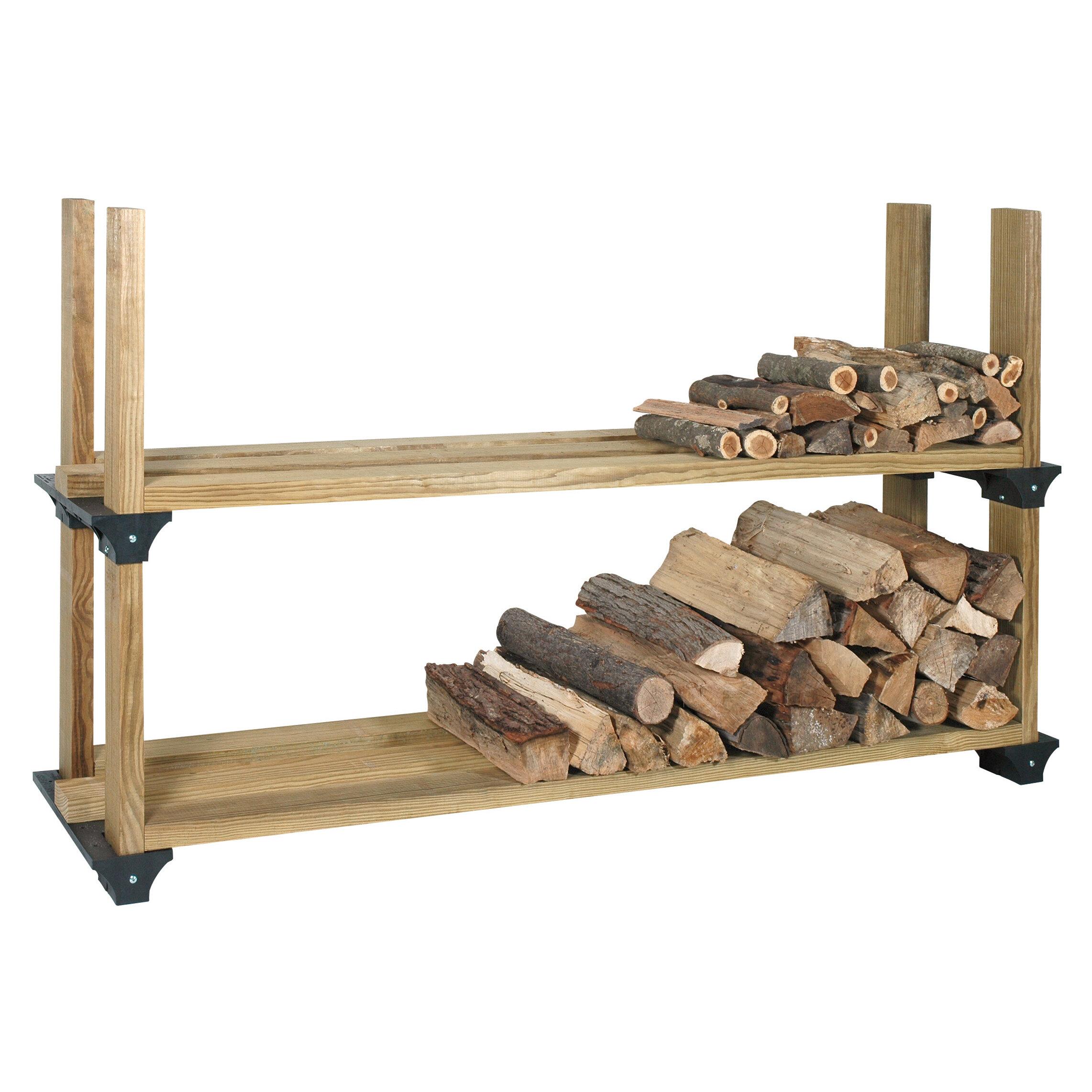 Arlmont Co Kanter Log Rack Reviews Wayfair