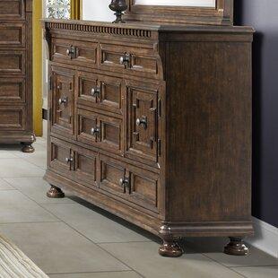 Astoria Grand Annie 6 Drawer Combo Dresser