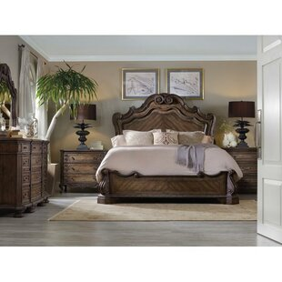 Rhapsody Panel Bed by Hooker Furniture Spacial Price