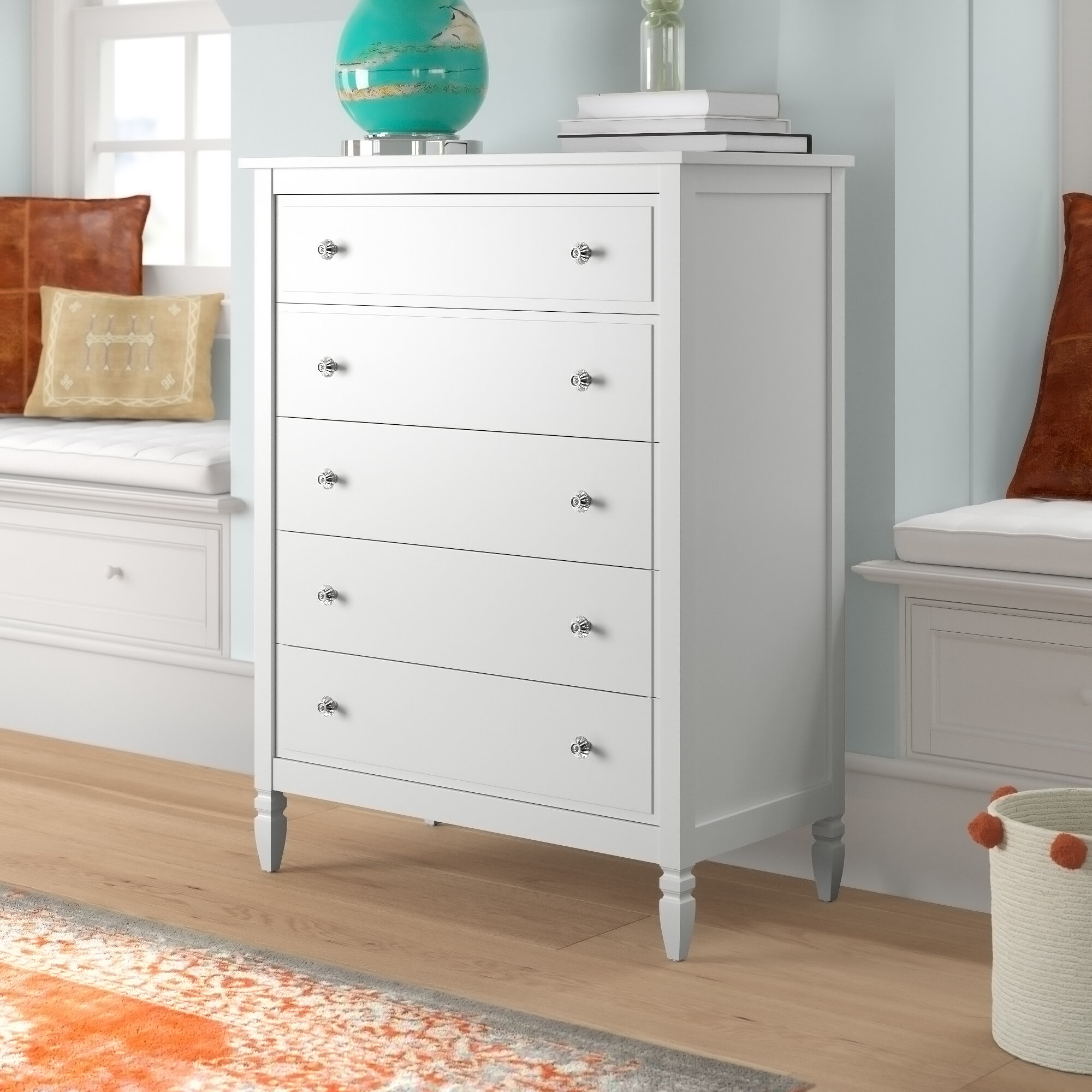 Mistana Ulus 5 Drawer Chest Reviews
