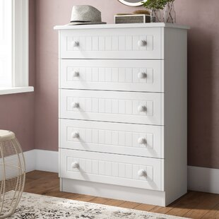 Saxena 5 Drawer Chest By Brambly Cottage