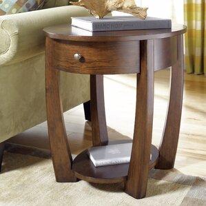 hatfield wood end table