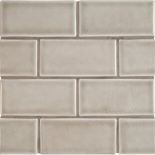 3 x 6 Ceramic Subway Tile in Dove Gray by MSI