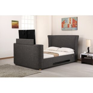 Upholstered TV Bed by Marlow Home Co.