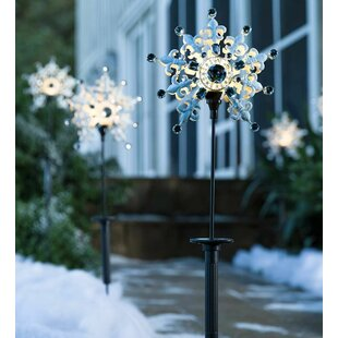 Solar Christmas Pathway Lights.Solar Christmas Stake Lights Wayfair