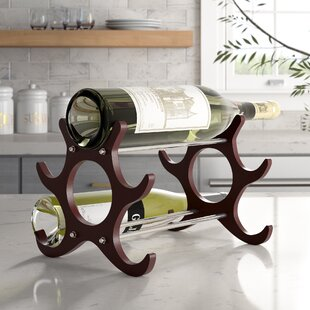 Frint and Walt 6 Bottle Tabletop Wine Rac..
