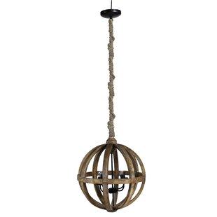Patin Sphere 4 Light Globe Pendant