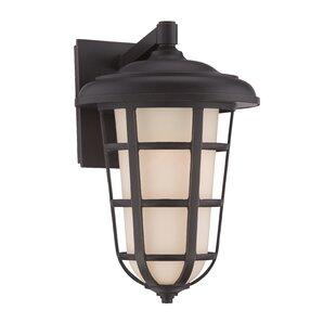 Comparison Triton 1-Light Outdoor Wall Lantern By Designers Fountain