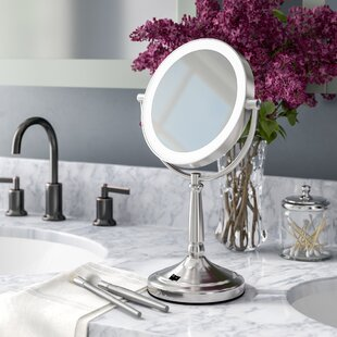 Buying Cordless Dual-Sided LED Lighted Makeup/Shaving Mirror By Alcott Hill