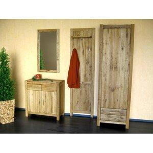 Garderobenschrank Casa, 200 cm H x 63 cm B x 45 cm T von Henke Collection