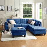 Albéric 80.31 Right Hand Facing Sectional with Ottoman by Latitude Run