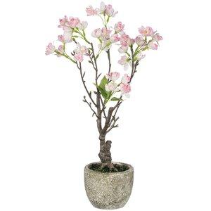 Cherry Blossom Floral Arrangement in Pot