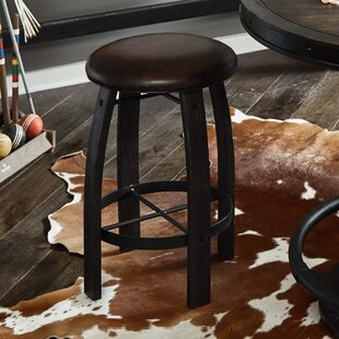 Rene 24 Bar Stool by Loon Peak 2019 Online