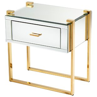 Cyan Design St. Clair End Table with Storage