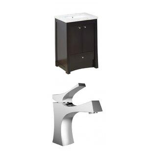 Kimbrell Transitional Floor Mount 32 Single Bathroom Vanity Set by Royal Purple Bath Kitchen