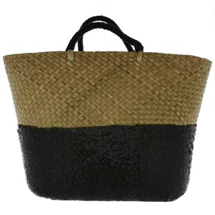 Large Beach Wicker Laundry Basket By Symple Stuff