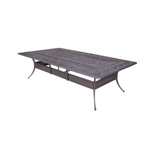 Bean Metal Dining Table by Fleur De Lis L..