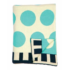 Big Dots Baby Blanket
