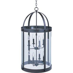 Mosqueda 8-Light Foyer Lantern Pendant by Gracie Oaks