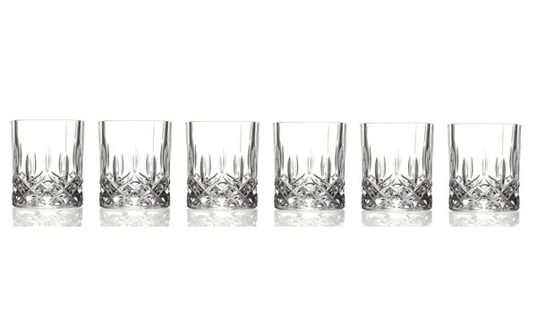 Rcr opera crystal double old fashioned glass