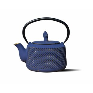 Unity 0.84 Qt. Cast Iron Matsukasa Teapot