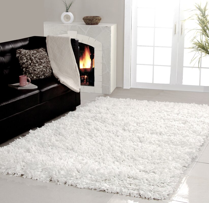10 By 10 Rug Part - 44: Affinity Home Collection Cozy Shag Area Rug (8u0027 X ...