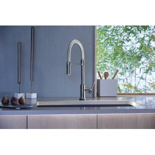 Trinsic Pro Pull Down Touch Single Handle Kitchen Faucet with and MagnaTite® Docking and Touch2O® Technology