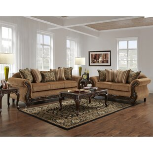 Astoria Grand Weissinger 2 Piece Living Room Set
