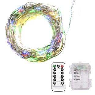 The Holiday Aisle Kaufmann 33 ft. 100-Light Novelty String Lights
