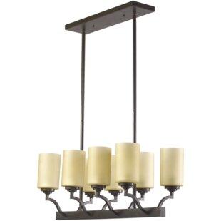 Quorum Atwood 8-Light Kitchen Island Pendant