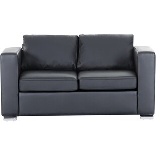 Enya Genuine Leather Loveseat ..