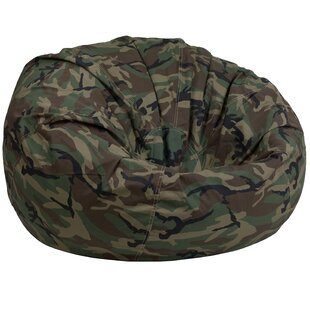 Camouflage Lightweight Kids Bean Bag Chair by Zoomie Kids Sale