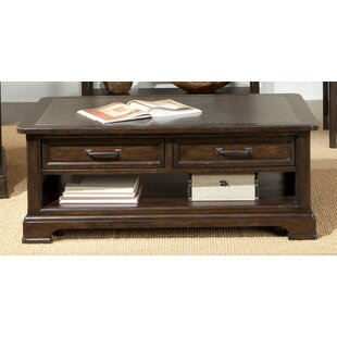 Medlin Coffee Table with Storage By Alcott Hill