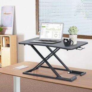 Kayo Adjustable Laptop Cart By Mercury Row