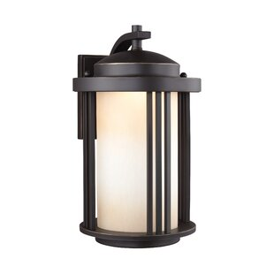 Low priced Dunkley 1-Light Outdoor Wall Lantern By Darby Home Co