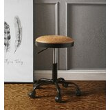 Swivel Adjustable Height Stool by Latitude Run®