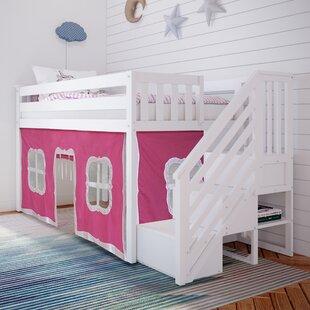 Glyndon Twin Low Loft Bed