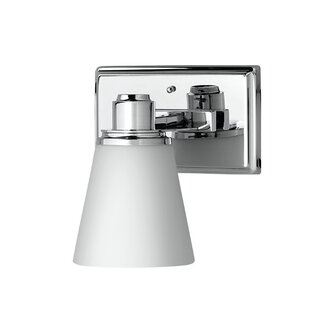 Simkins 1-Light Bath Sconce by Latitude Run