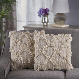 Meansville Wool Throw Pillow (Set of 2)
