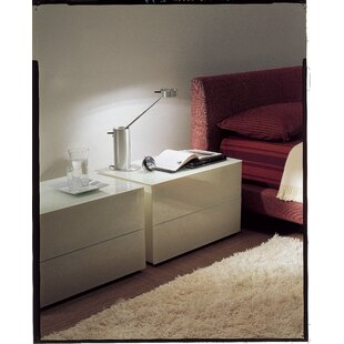 Enea 2 Drawer Nightstand by Bontempi Casa