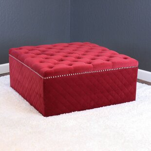 Compare prices Westbrooks Tufted Ottoman By Willa Arlo Interiors