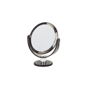 Affordable Price Round Tortoise Vanity Mirror By Danielle Creations