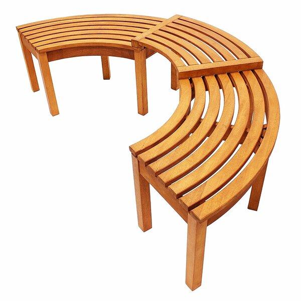Astounding Curved Outdoor Tree Bench Wayfair Bralicious Painted Fabric Chair Ideas Braliciousco