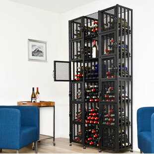 Locker 96 Bottle Floor Wine Rack by Vinta..