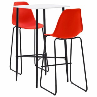 Dining Set With 2 Chairs By 17 Stories