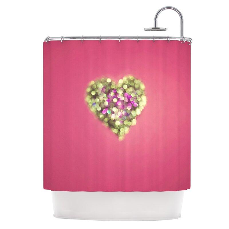 East Urban Home Sparkle Shower Curtain