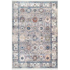Flint Gray Area Rug