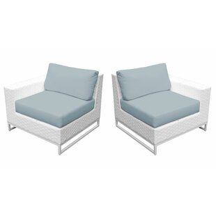 Miami 2 Piece Patio Chair with Cushions by TK Classics