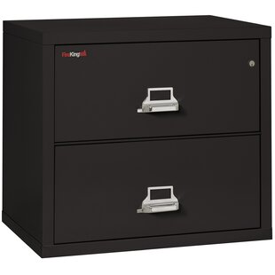 FireKing Fireproof 2-Drawer Lateral File Cabinet