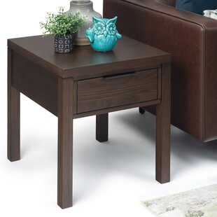 Mcadams End Table with Storage by Millwood Pines
